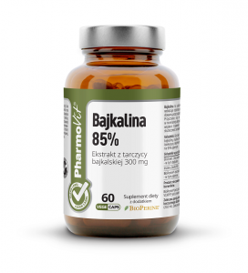 Bajkalina 60 kapsułek 33,18 g - pharmovit (clean label)