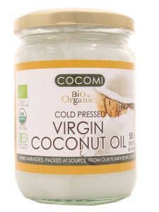 Olej kokosowy Virgin BIO - Cocomi - 500 ml
