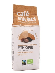Kawa mielona arabica etiopia FT - Cafe michel - 250g