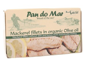 Makrela w BIO oliwie z oliwek - Pan do Mar - 120g