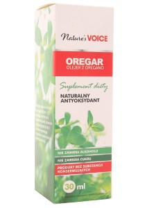 Oregar olejek z oregano - Naturies Voice - 30ml