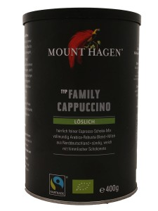 Kawa cappuccino Family Fair Trade BIO - Mount Hagen - 400 g