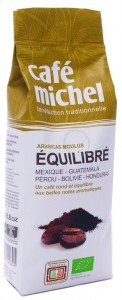 Kawa fair trade mielona premium equilibre BIO - Cafe Michel - 250g