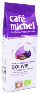 Kawa fair trade mielona Boliwia BIO - Cafe Michel - 250g