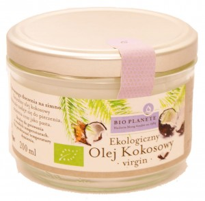 Olej kokosowy virgin BIO - Bio Planet - 200ml